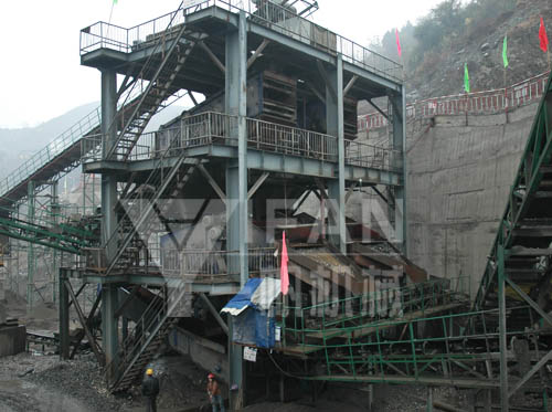 Aggregate Processing Line